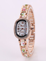L.WEST 2016 Delicate lady set auger alloy  watches Cool Watches Unique Watches