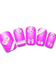 belle neige léopard dentelle clou bijoux rose