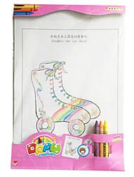 kreative DIY Spielzeug kreative Graffiti (Mädchen) 1