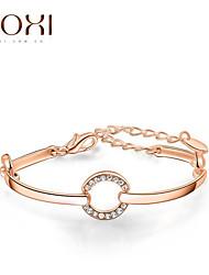 18k золото / серебро кристалл браслет ювелирные изделия для женщин