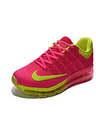 Nike Flyknit Air Max Running Shoes Women's Wearproof / Nano Plastic Drop Pink / Blue / Purple / Orange Running/Jogging Lace-up Fabric