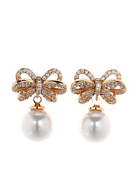 Sjeweler Girls Gold Plating Pearl Drop Earrings