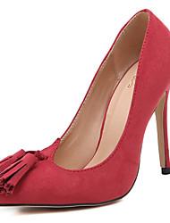 Women's Shoes Silk / Tulle Stiletto Heel Heels / Gladiator / Comfort / Novelty / SlippersSandals / Heels /
