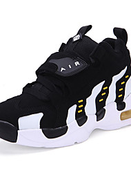 Men's Shoes Athletic Tulle Fashion Sneakers Black / Red / Fuchsia
