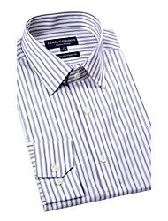 JamesEarl Herren Hemdkragen Lange Ärmel Shirt & Bluse Blau-BA142027804
