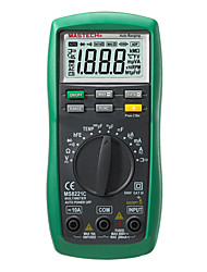 mastech MS8221C 2m (ω) 600 (V) 10 (a) professinal multímetros digitales