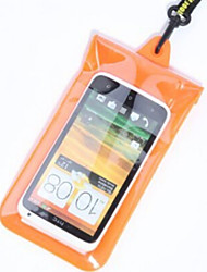 Dry Boxes / Dry Bags For Cellphone / Waterproof Diving / Snorkeling Black PVC