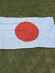 nouveau polyester 3x5 pieds drapeau japon pays drapeau national bannière décor à la maison (pas mât)