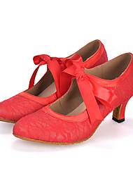 Scarpe da ballo-Personalizzabile-Da donna-Danza del ventre / Balli latino-americani / Jazz / Moderno / Samba / Scarpe da swing-Tacco a