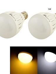 5W E26/E27 Круглые LED лампы B 10 SMD 5730 460 lm Тёплый белый / Холодный белый Декоративная AC 85-265 / AC 220-240 / AC 110-130 V 2 шт.