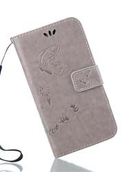 Retro Elegant Floral Print PU Leather Cover for Samsung Galaxy Grand Prime/ Galaxy Core Prime Case