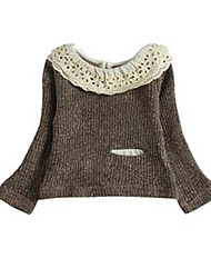 Girl's Sweater & Cardigan,Others Winter Brown