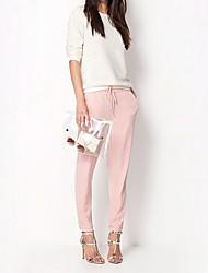 Pantaloni Da donna Skinny Casual Rayon Media elasticità