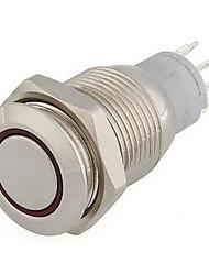 12v желтый светодиод переключатель металла кнопка фиксации моментальное 16мм