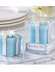 Something Blue Wedding Gift Candle