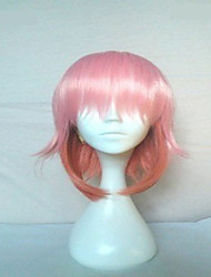 High Quality Pink Cosplay Wig Short Straight Animated Synthetic Hair Wigs Woman's Wigs Party Wigs