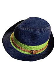Fashion PC Patchwork Unisex Straw Hat,Casual Spring / Fall