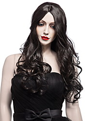 Black Color Wigs White Women European Synthetic Black Women Wigs