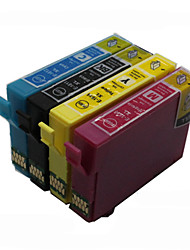 bloom®t1631-t1634 cartouche d'encre compatible pour Epson WF-2540wf / WF-2630wf / 2650dwf / 2660dwf pleine encre (4 couleurs 1 jeu)