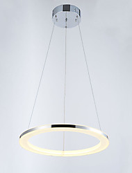 Modern Mini Pendant Light Fixtures LED Lighting  with Round Ring D40CM 16W CE FCC ROHS