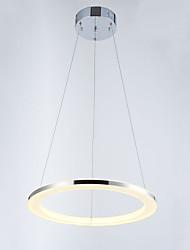 Modern Mini Pendant Light Fixtures LED Lighting  with Round Ring D40CM 16W CE FCC ROHS