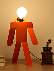 Loft Amercian Countryside Creative Modern Metal Robot Table Lamp Decorate for Foyer / Living Room / Study Room Dest Lamp
