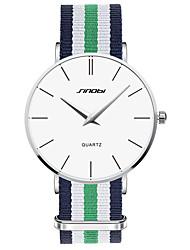 Мужской Наручные часы Кварцевый Защита от влаги Материал Группа Зеленый марка