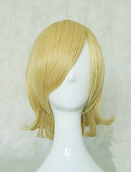 New Arrival Blonde Cosplay Wig Woman's Synthetic Hair Wigs Short Straight Animated Wigs  Party Wigs