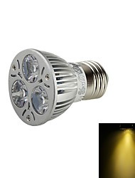 3W E26/E27 Spot LED BA 3 LED Haute Puissance 200 lm Blanc Chaud Décorative AC 85-265 / AC 100-240 / AC 110-130 V 1 pièce