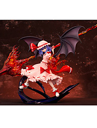 TouHou Project Remilia Scarlet PVC 25cm Anime Action Figures Model Toys Doll Toy 1 Pc