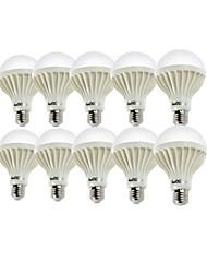 12W E26/E27 Bombillas LED de Globo A80 18 SMD 5630 900 lm Blanco Cálido / Blanco Fresco Decorativa AC 100-240 V 10 piezas