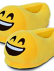 3D Emoji Plush Stuffed Unisex Slippers Cartoon Winter Home Indoor Shoes Slipper