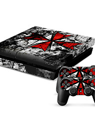 New Protective Sticker Cover Skin for PS4(TN-PS4-0094)
