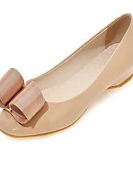 Черный / Зеленый / Розовый / Красный / Миндальный-Женская обувь-Для офиса / Для праздника / На каждый день-PU-На плоской подошве-Удобная