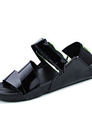 Men's Shoes Casual Sandals / Flip-Flops Black / White / Silver / Gold