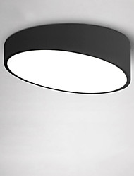 Flush Mount ,  Modern/Contemporary Traditional/Classic Painting Feature for LED MetalLiving Room Bedroom Study Room/Office Kids Room
