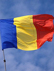 Romania Flag Banner 90*150Cm Hanging Romania Flag The World Cup Home Decoration Romania Flag
