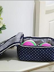 Sacs de Conservation Tissu avec A Storage Bag , Fonctionnalité est Ouvert / Voyage , Pour Sous-vêtement / Tissu