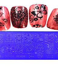 1pcs  Stamping Plates Nail Art Templates DIY Image Nail Art Tools XY-L21-25