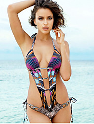 Europe Sexy Piece Swimsuit Halter Strap Halter Swimsuit