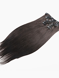 Virgin Hair Clip in Human Hair Extensions Brazilian Hair Clip in Extension Natural Hair Straight