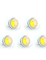 5pcs MORSEN® 5W GU10 350-400LM Support Dimmable Led Cob Spot Light Lamp Bulb