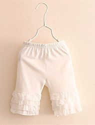 Summer Girls Pants Large Elasticity Baby Girl Safe Pants Legging Short Trousers Kinds Lace Ruffle Safe Pants For Dress