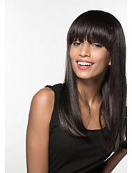 Compliant Natural  Long Capless  Hair Woman's Wig