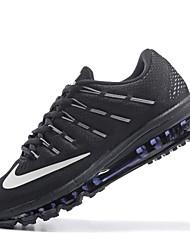 Nike Air Max 2016 zapatos corrientes del mens negras formadores de color rojo zapatillas de deporte del éxito de ventas con cordones rojo / negro