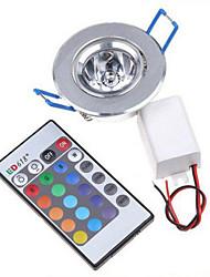 3W LEDBühnenleuchten 240 lm RGB SMD Dimmbar / Ferngesteuert / Dekorativ AC 85-265 V