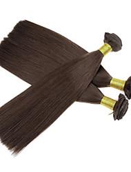 3pcs / lot 110g / pcs 7a 100% vierge cheveux humains brésiliens tisse la trame des paquets de cheveux, yaki, les cheveux naturels et colorés