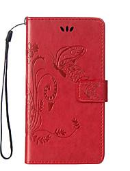моды тиснением дизайн магнитной кобура флип пу кожаный телефон дела задней стороны обложки для Iphone 5 / 5s / SE