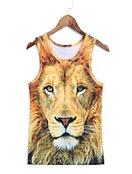 3d vest beest leeuw vest cosplay kostuums cosplay geeky kleding voor man / vrouw