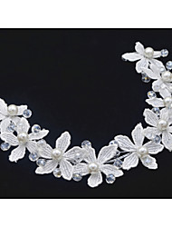 Women's / Flower Girl's Imitation Pearl / Fabric Headpiece-Wedding / Special Occasion Headbands 1 Piece